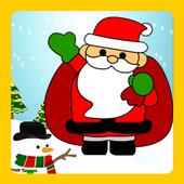 Christmas Photo Sticker icon