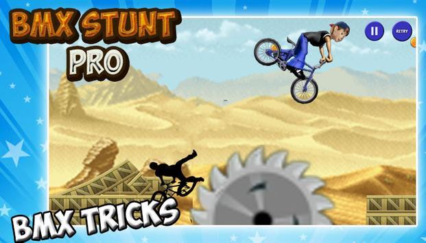 BMX Stunt Pro apk screenshot
