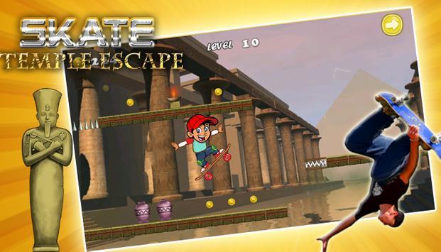 Skate Temple Escape poster