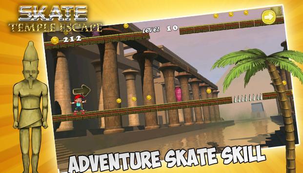 Skate Temple Escape apk screenshot