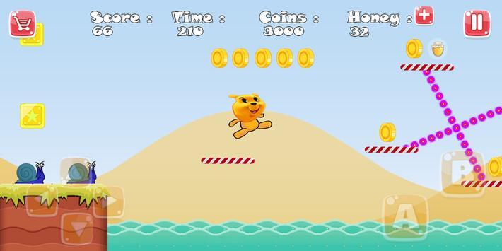 Winnie Jungle adventure screenshot 1