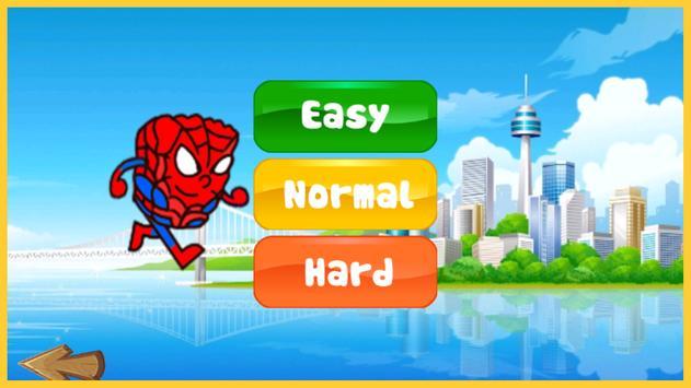 Sponge Spider Bob Jungle Run screenshot 1