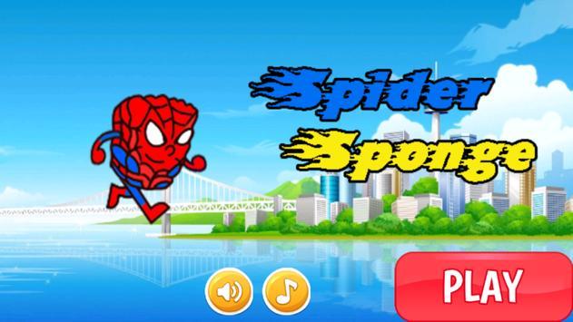 Sponge Spider Bob Jungle Run screenshot 7