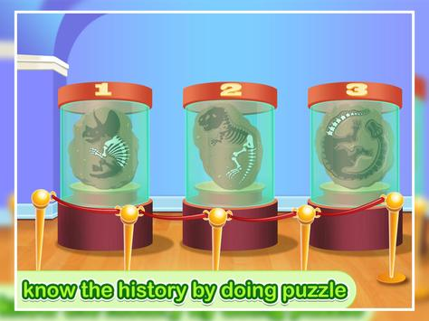 Crazy Museum Tour Clean up and Jigsaw Game screenshot 5