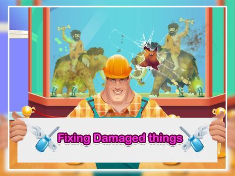 Crazy Museum Tour Clean up and Jigsaw Game apk screenshot