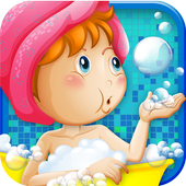Baby Girls Bubble Party! icon