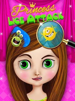 Princess Lice Attack apk screenshot