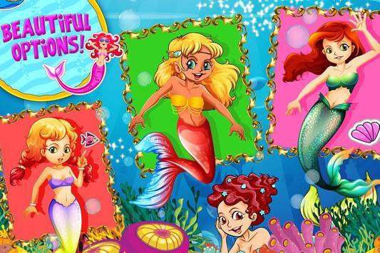 Mermaid Princess Salon apk screenshot
