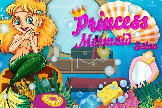 Mermaid Princess Salon poster