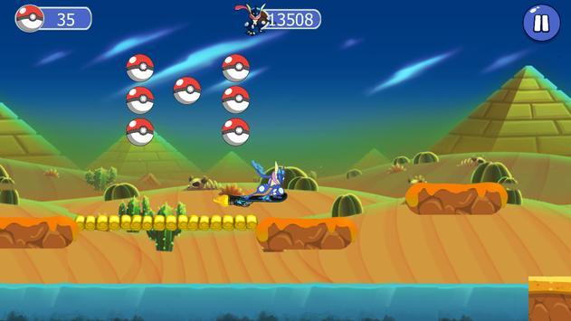 Super greninja Dash Run apk screenshot