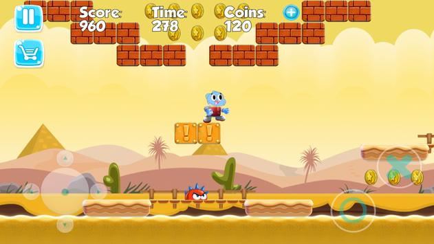Super Gumball Adventure apk screenshot
