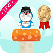 Super Doraemon jump icon