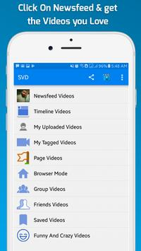 Video Download for Facebook : HD Video Downloader screenshot 2