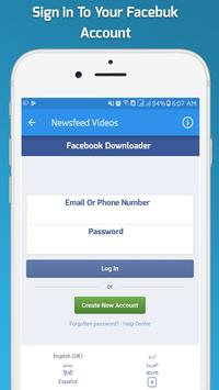 Video Download for Facebook : HD Video Downloader screenshot 5