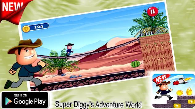 Super Diggy's Adventure World screenshot 3