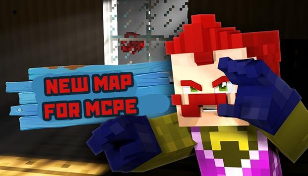 Maps Hello Neighbor for MCPE poster
