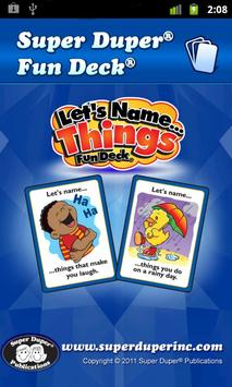 Let's Name Things Fun Deck poster