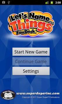 Let's Name Things Fun Deck apk screenshot