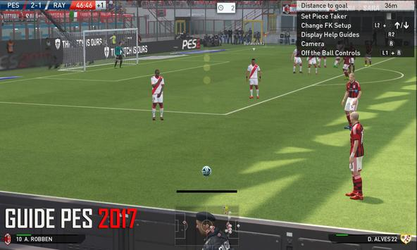 Guide : PES 2017 apk screenshot