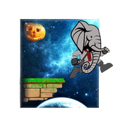 African  Elephant : Escape to Space icon