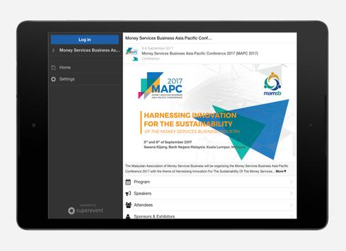 Money Services Business Asia Pacific Conference apk screenshot