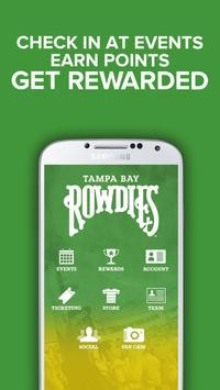 Tampa Bay Rowdies poster