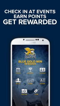 BlueGoldWin Rewards poster