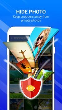 Photo & video Vault - Applock, booster screenshot 1