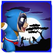 speedy hattori ninja adventure icon