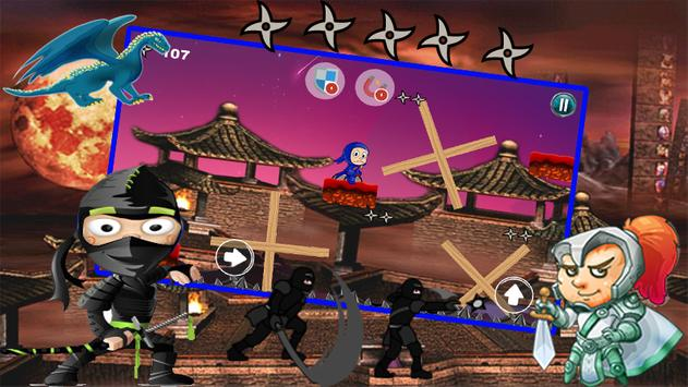 speedy hattori ninja adventure apk screenshot