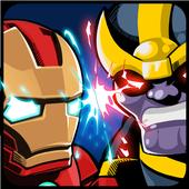 SuperHero VS Villains Defense icon