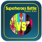 Superheroes Battle Funny Kids icon