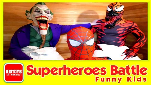 Superheroes Battle Funny Kids screenshot 4