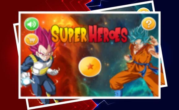 Super Heroes Dragonball poster