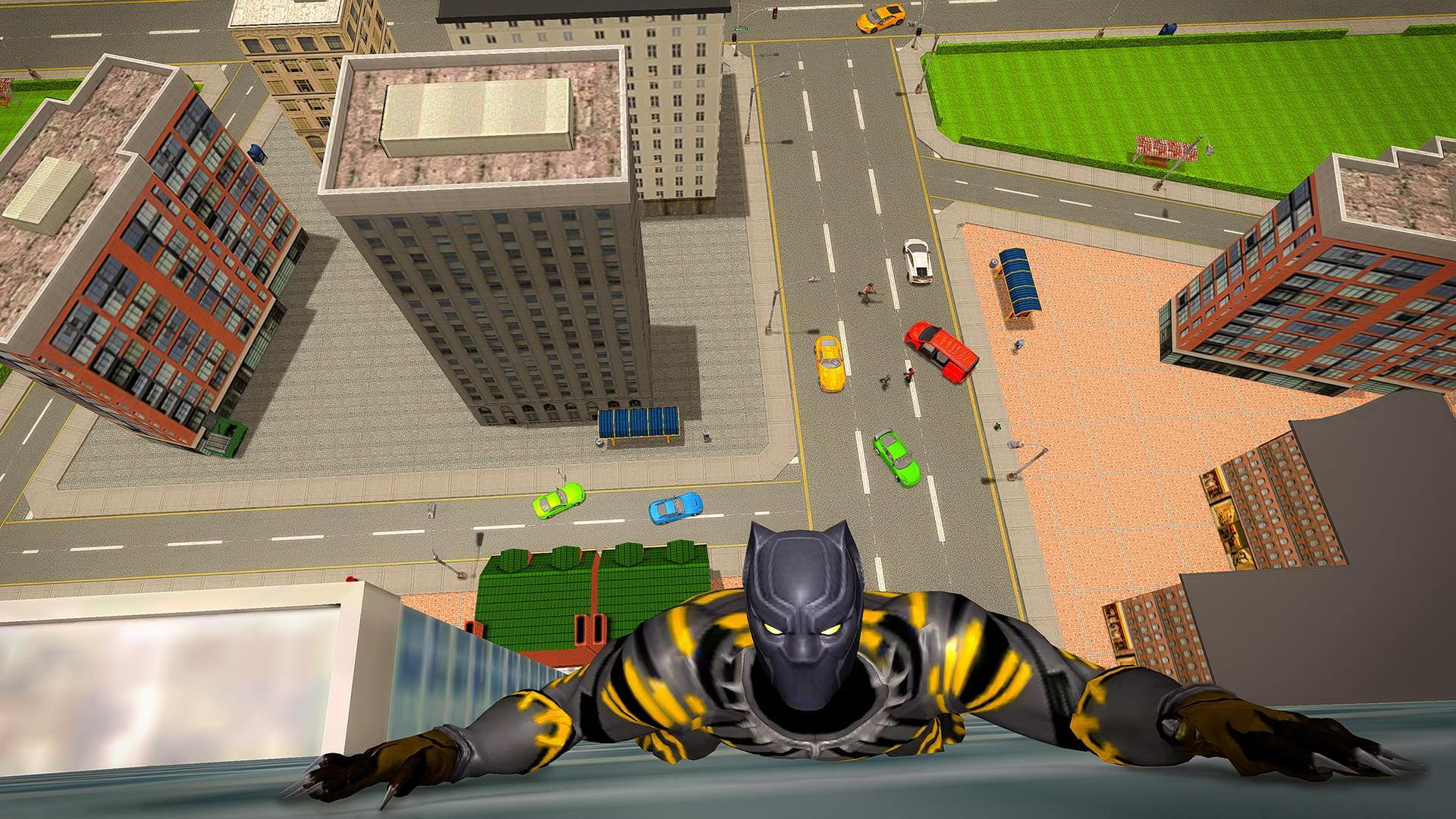 Becoming A Superhero In Roblox - Black Superhero Panther Grand City Survival For Android