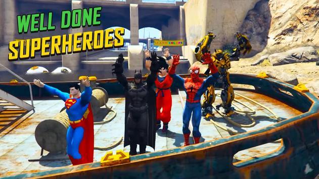 Superheroes Fast BMX Racing Challenges screenshot 3