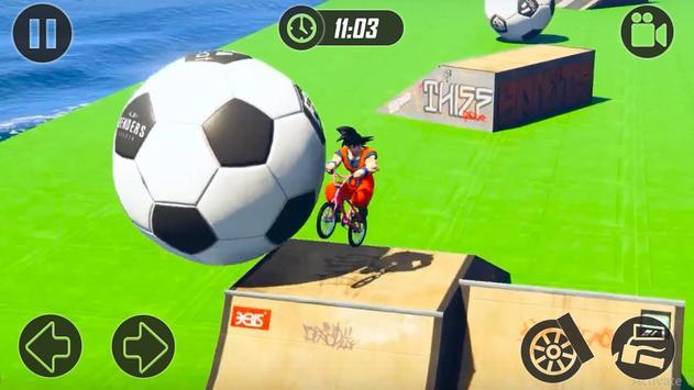 Superheroes Fast BMX Racing Challenges screenshot 2
