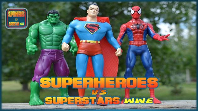 Superheroes VS Superstars WWE screenshot 2