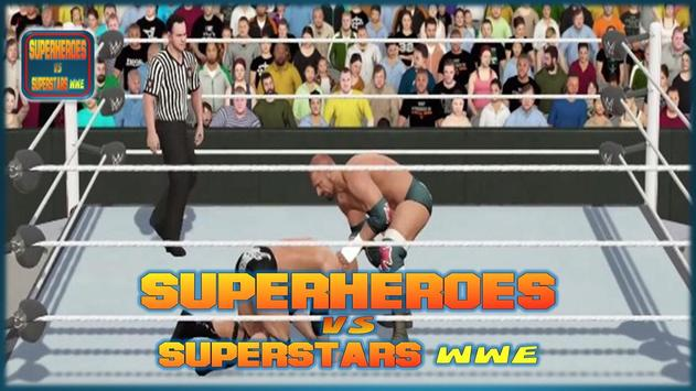 Superheroes VS Superstars WWE screenshot 3