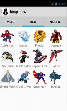 SuperHeroes apk screenshot