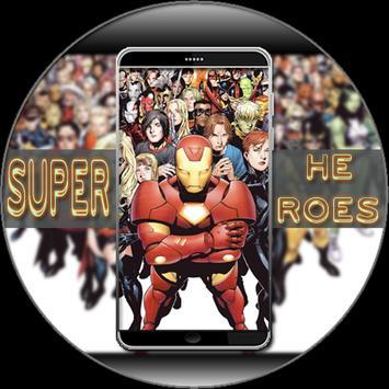 Super Heroes Wallpaper HD screenshot 5
