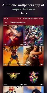Superheroes Wallpapers screenshot 9