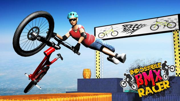 Impossible BMX Racer poster