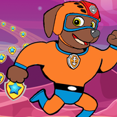 Superhero Paw Adventure Patrol Run Games icon