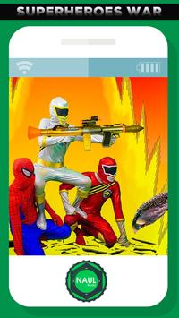 Nerf War Super Hero Battles In Real Life poster