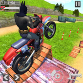 Superhero Bike Racing Mania : Extreme Stunts Rider icon