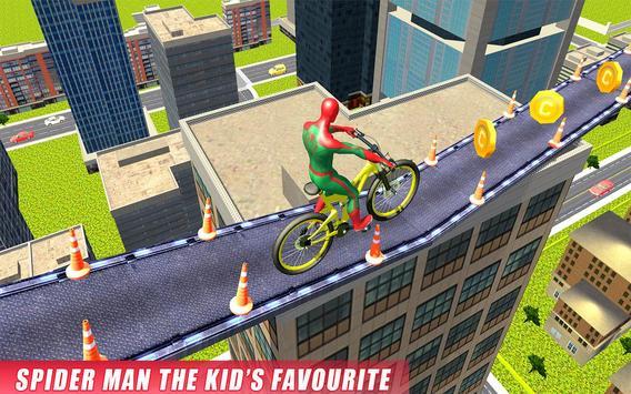 Real Superhero BMX Rider Racing Game screenshot 9
