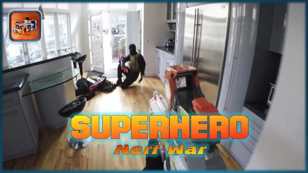 Superhero Nerf War apk screenshot