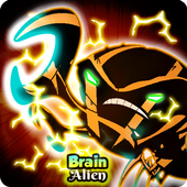 🦀 Hero Ben Brainstorn Alien Fight Ultimate icon