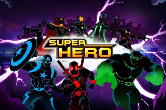 Stickman Avengers: Superhero poster